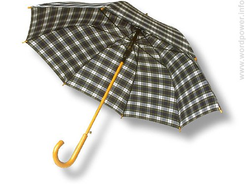 A photo quality image of an umbrella.